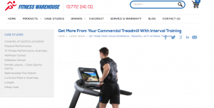 commercial cardio equipment treadmill